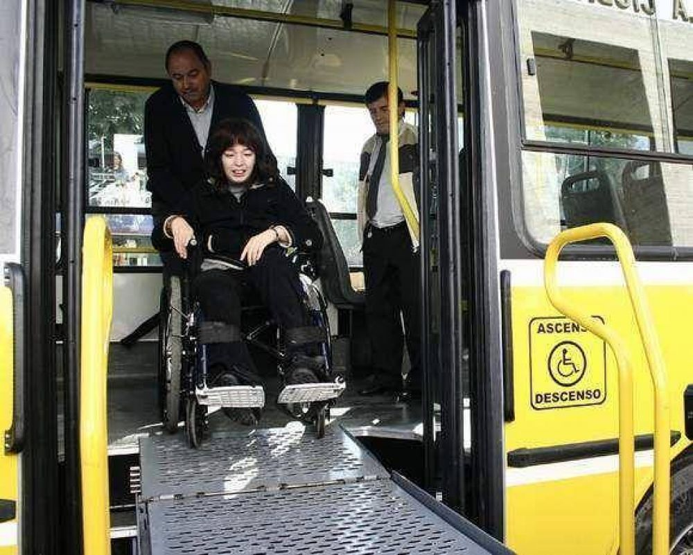 La discapacidad: tema eje en la Audiencia Pública del transporte.
