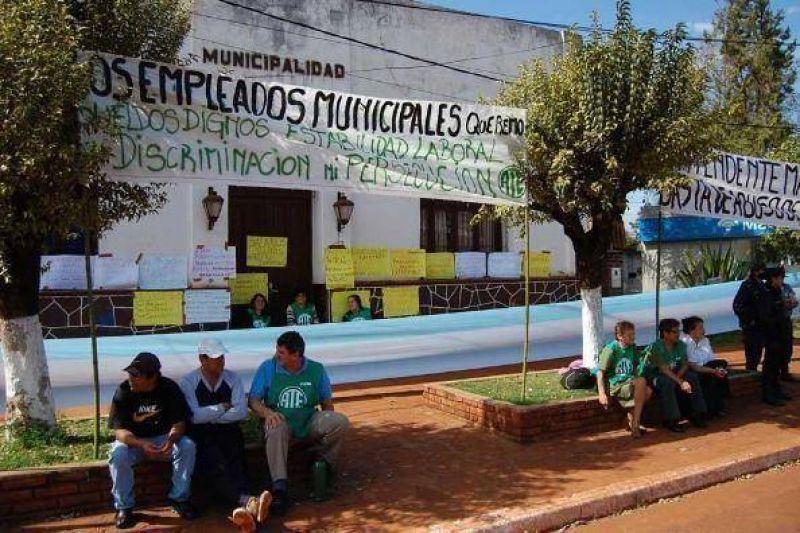 Sigue el paro en la Municipalidad de El Soberbio
