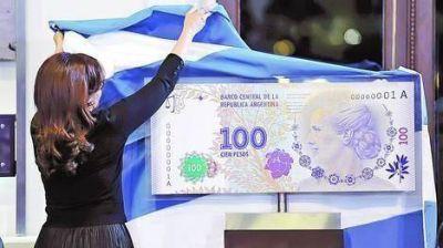 Por fallas en la seguridad, no salen a circulación los billetes de Evita