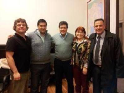 MARIOTTO RECIBIÓ A DIRIGENTES DEL SMATA DE MAR DEL PLATA