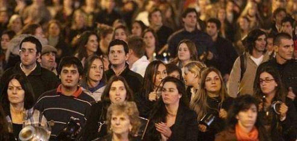 Navarro insiste con tono moderado y dice: 'CFK tomará nota de la marcha'