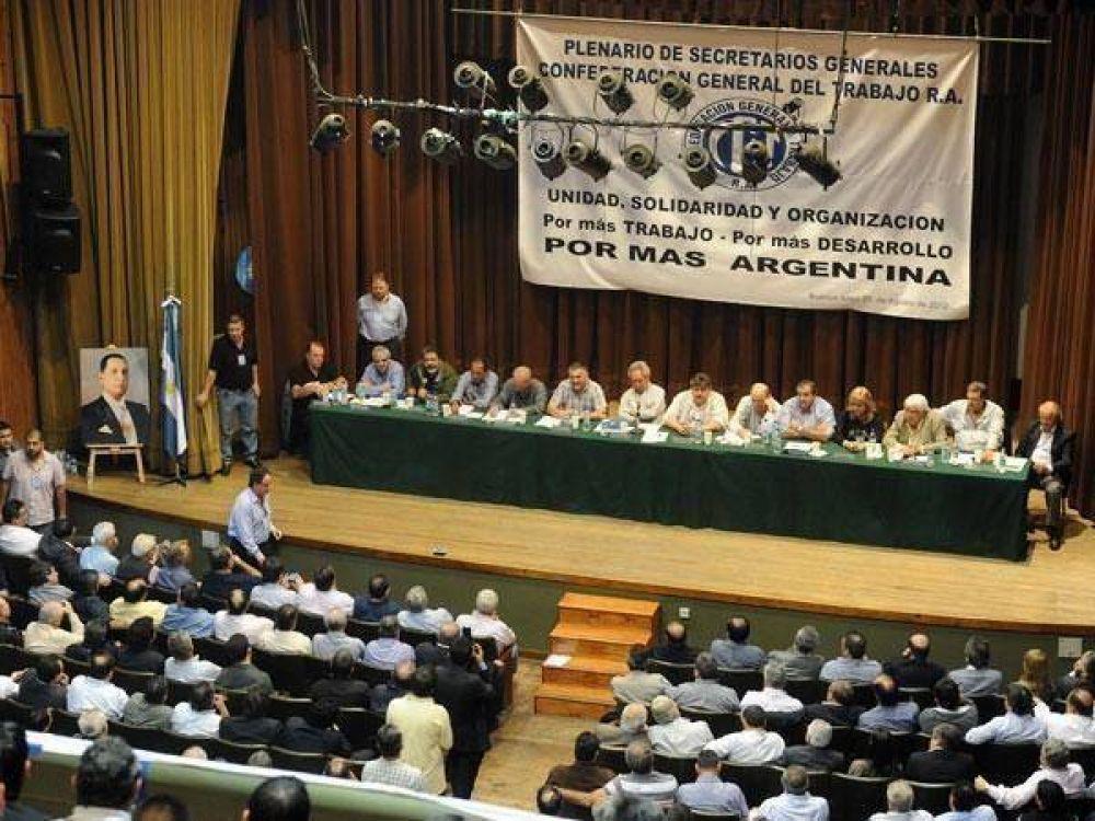 Nueva reunión del antimoyanismo para discutir la conducción de su CGT