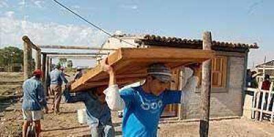 Decenas de asentamientos erradicados y casi diez mil personas van a un hogar digno