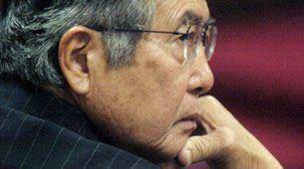 Internaron al ex presidente Fujimori
