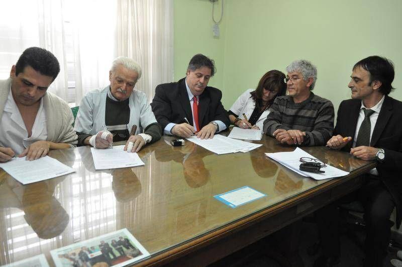 SE FORTALECIÓ LA SEGURIDAD DEL HOSPITAL DE MORENO Y YA FUNCIONA NORMALMENTE