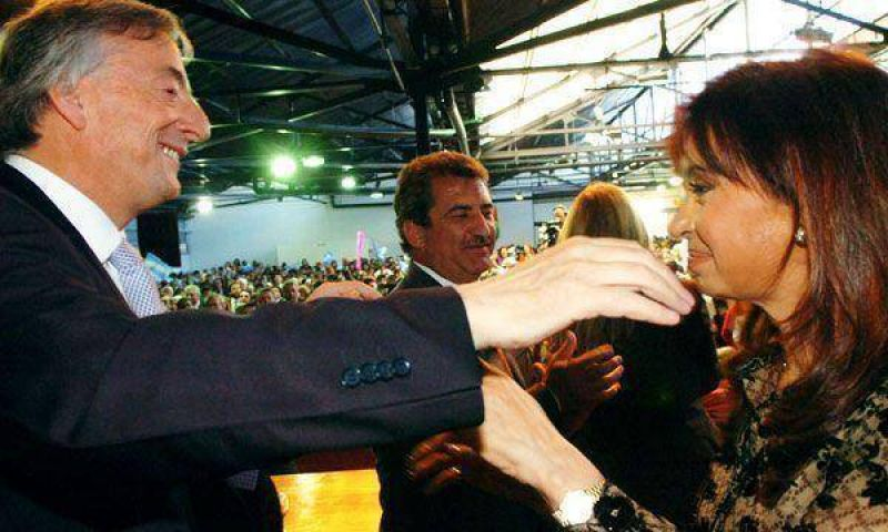 La Presidente y Néstor Kirchner van a Chubut