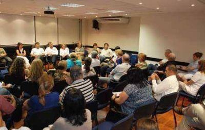 Reunión de Convergencia Social en los circuitos del centro