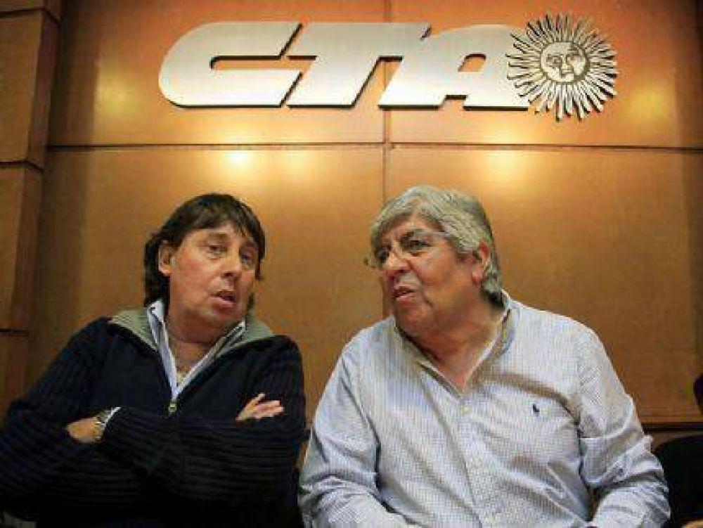"""José Rigane calificó de """"muy buena"""" la reunión entre Hugo Moyano y la CTA de Micheli"""