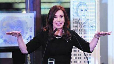 Volvió Cristina con anuncios, pero sin hablar de la protesta