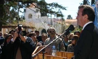 """Pérez habló de la reelección y dijo que """"no está detrás de un proyecto personal"""""""