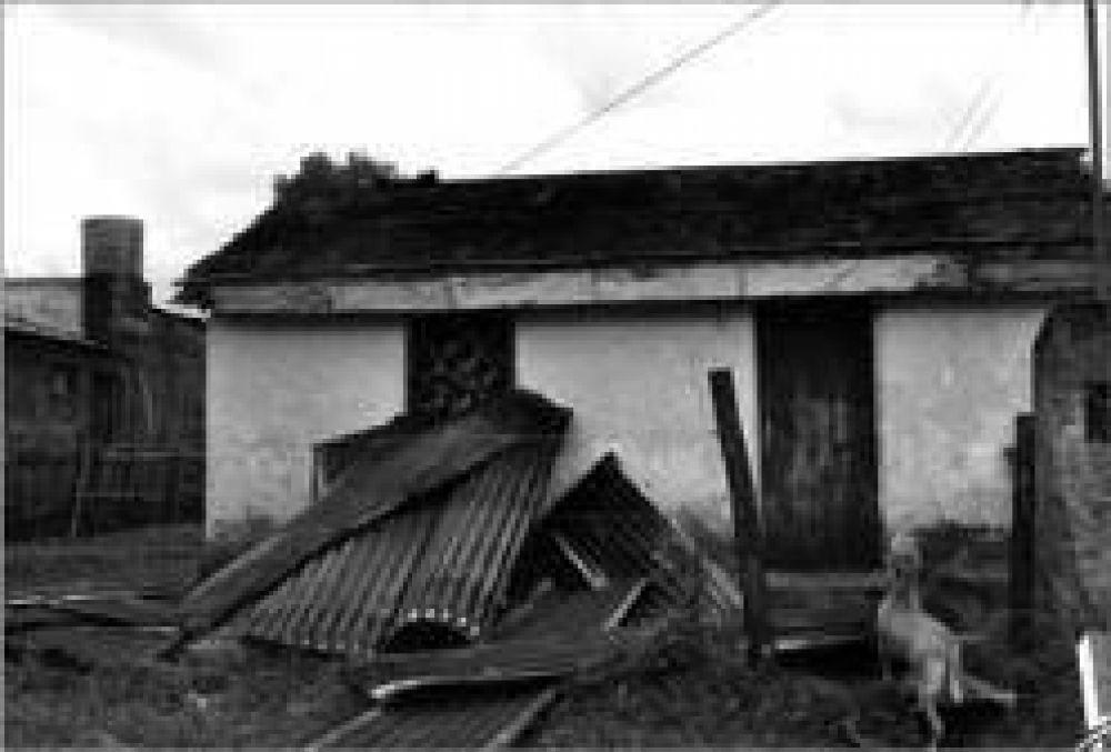 """""""La granizada destruyó nuestro pueblo"""", aseguró el intendente de San José"""