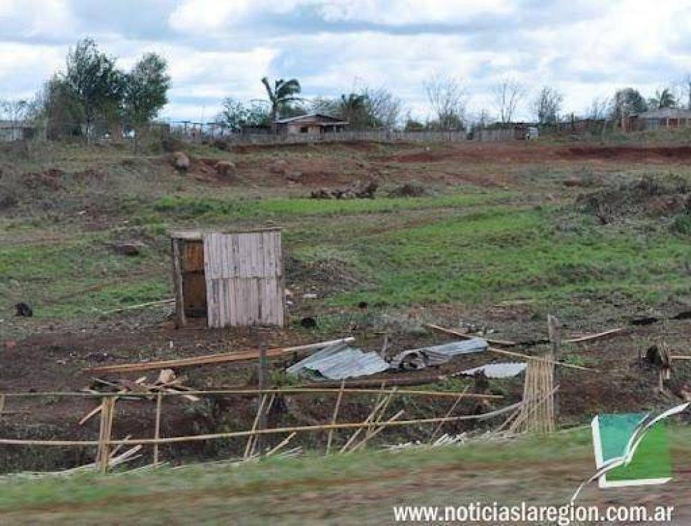 San José sufrió severos daños por el temporal