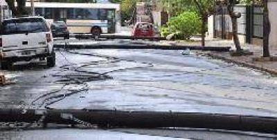 El temporal dejó como saldo unas 900 casas afectadas en Misiones