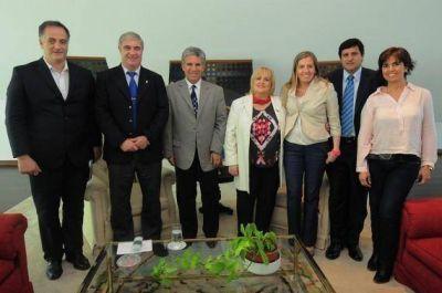 Juegos Panamericanos: Poggi se reunió con el Comité Olímpico Argentino