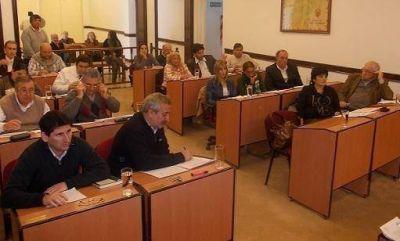 El HCD de San Fernando aprobó el plan de obras municipal 2012-2013