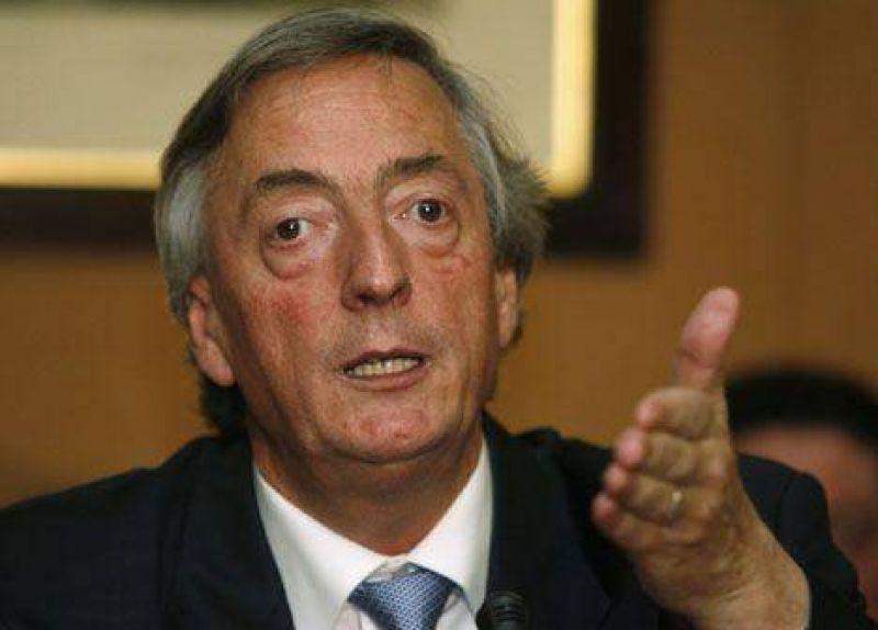 """Kirchner: """"Lo fundamental es la gobernabilidad"""""""