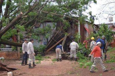La Municipalidad trabaja para subsanar consecuencias de la fuerte tormenta