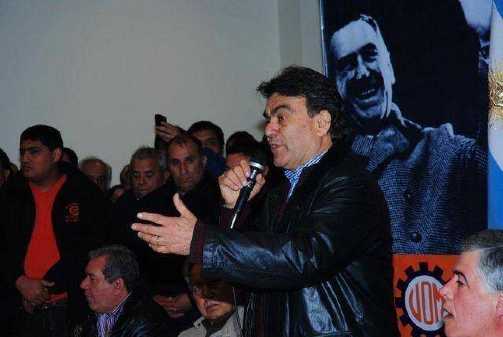 """El Barba"" Gutiérrez renovó su mandato al frente de la UOM regional"