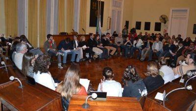 Amplio debate en el Concejo Deliberante por el voto a partir de los 16 años