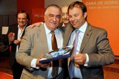 Distinción al Dr. Félix Crognale en Casa de Gobierno La Plata