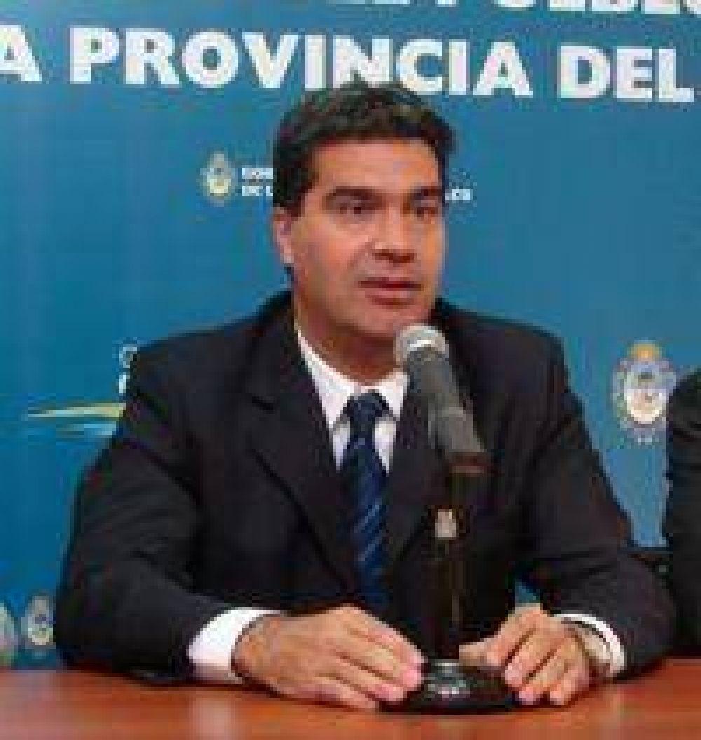 Capitanich reconoció que impulsará bajo el consenso político que en el Chaco se vote el 28 de junio