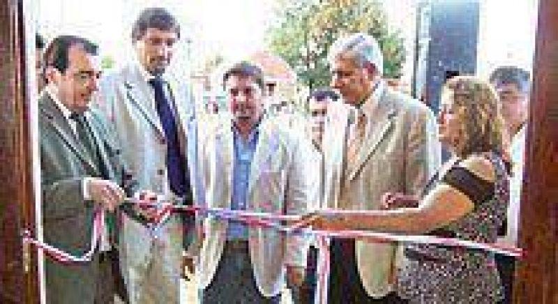 El gobierno de la provincia inauguró obras en El Arenal.