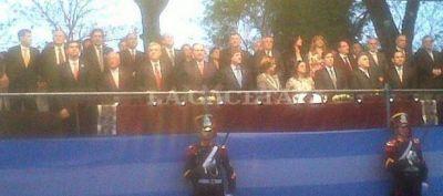 Corpacci participó de los actos por los 200 años de la Batalla de Tucumán