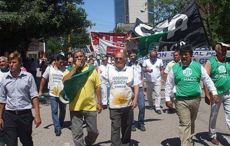 Jornada de protesta convocada por la Multisectorial y la CTA