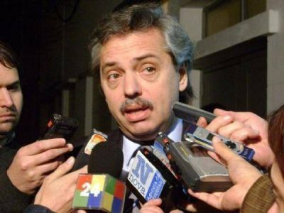 Alberto Fernández volvió a ponderar a Scioli
