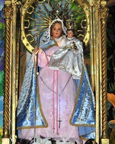 Comienza la Caminata  De la Virgen del Rosario