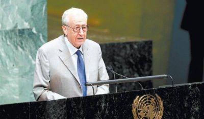 Para el enviado especial de la ONU la situación en Siria empeora día a día