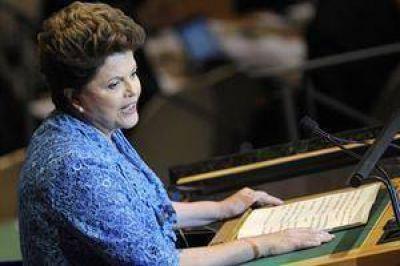 Rousseff abrió la Asamblea General de la ONU y pidió nuevamente el fin del embargo de EE.UU. a Cuba