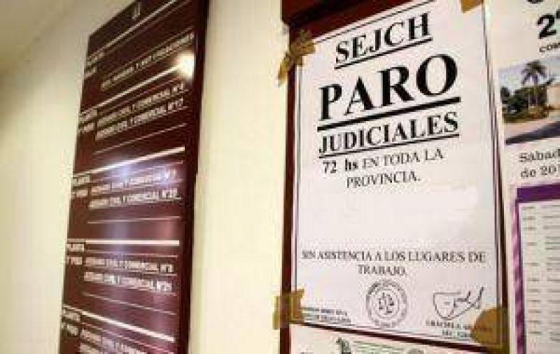 El sindicato judicial ratific� el paro por 72 horas