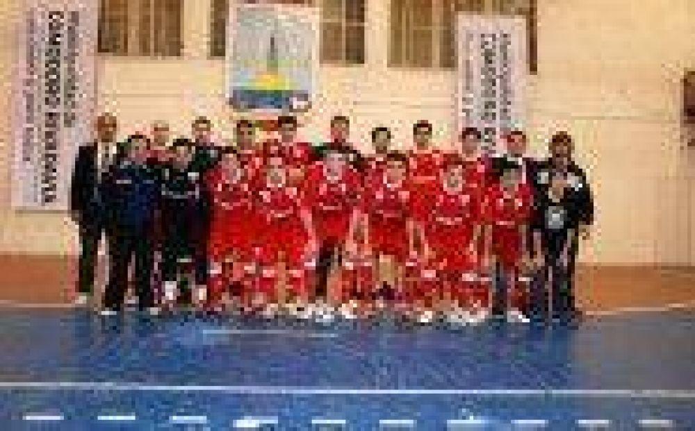 Mar del Plata, subcampeón argentino de Futsal
