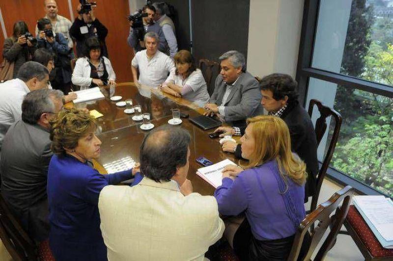 Autoconvocados de la Salud llevaron sus reclamos a la Legislatura