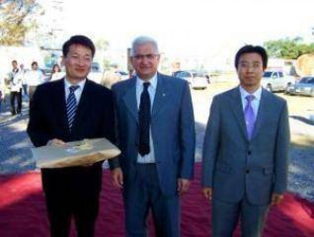 Tobchi celebró producción de Korlamp en la provincia.