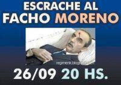 El gobierno denunció que Moreno es víctima de amenazas de muerte