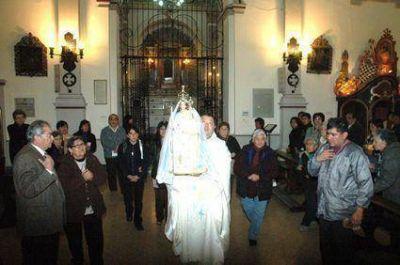Iniciaron honras  A la Patrona de Jujuy
