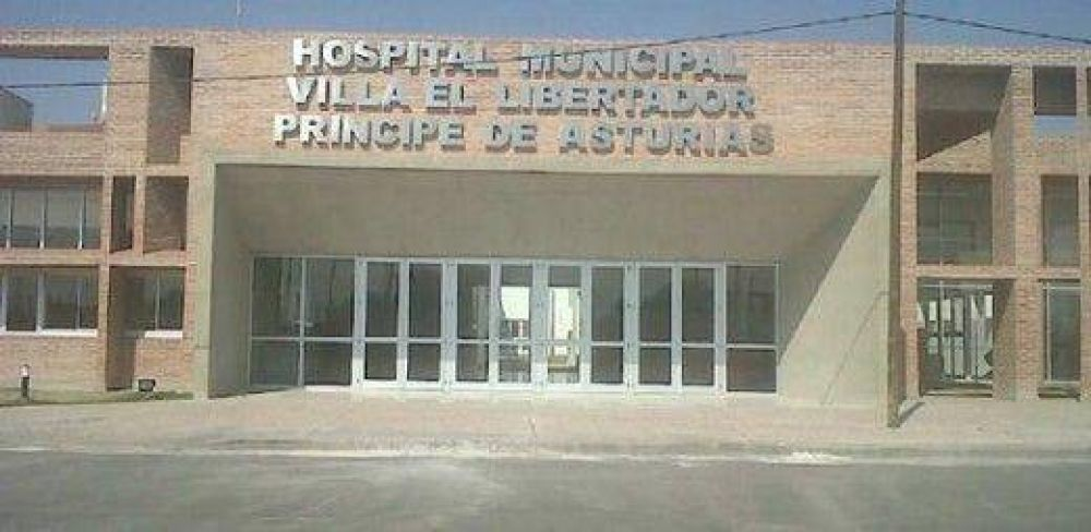 Protestas de trabajadores del Hospital Príncipe de Asturias