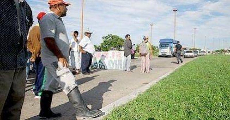 Nueva protesta de pescadores en la 168