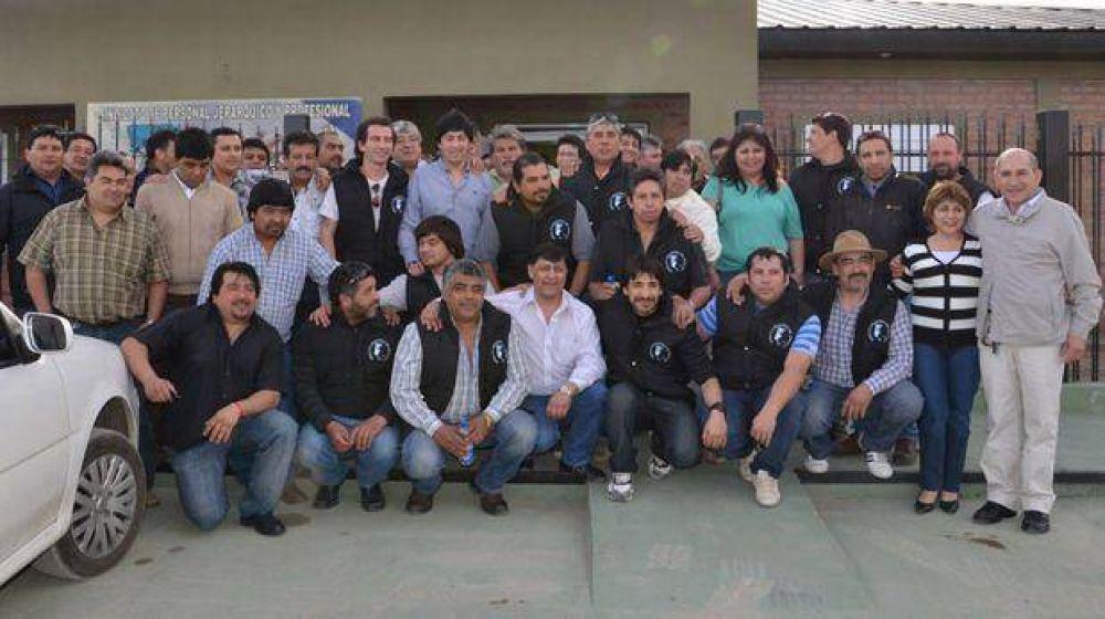 Sindicato de petroleros jerárquicos inauguró subsede en Las Heras