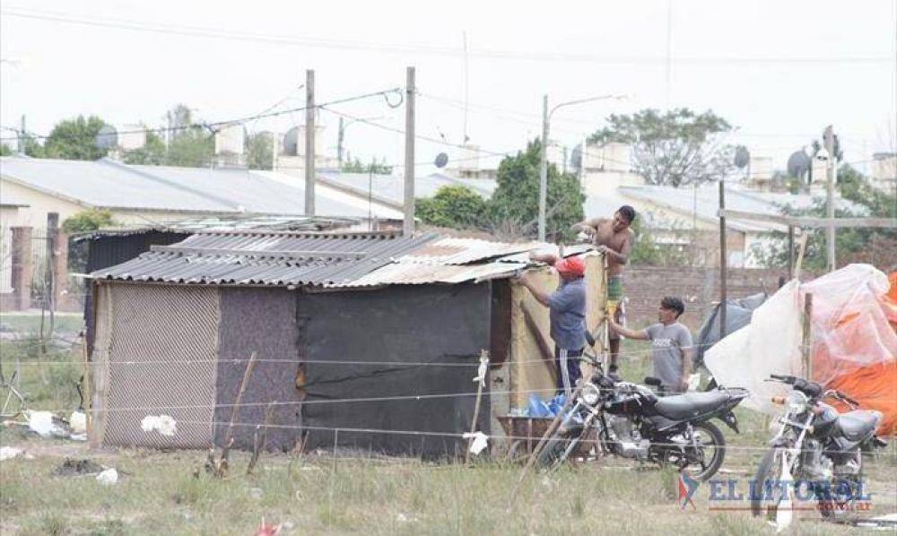 Pirayuí: okupas miran de reojo a Santa Catalina para reubicar a las familias