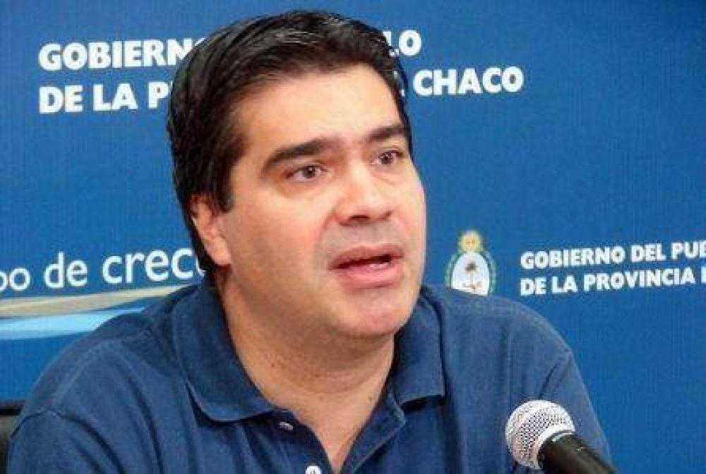 """Capitanich admite """"restricciones jurídicas"""" para adelantar elecciones."""