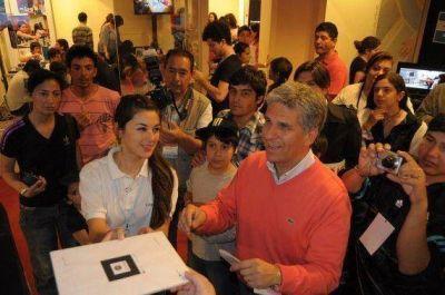 El Gobernador recorrió San Luis Digital en su último día
