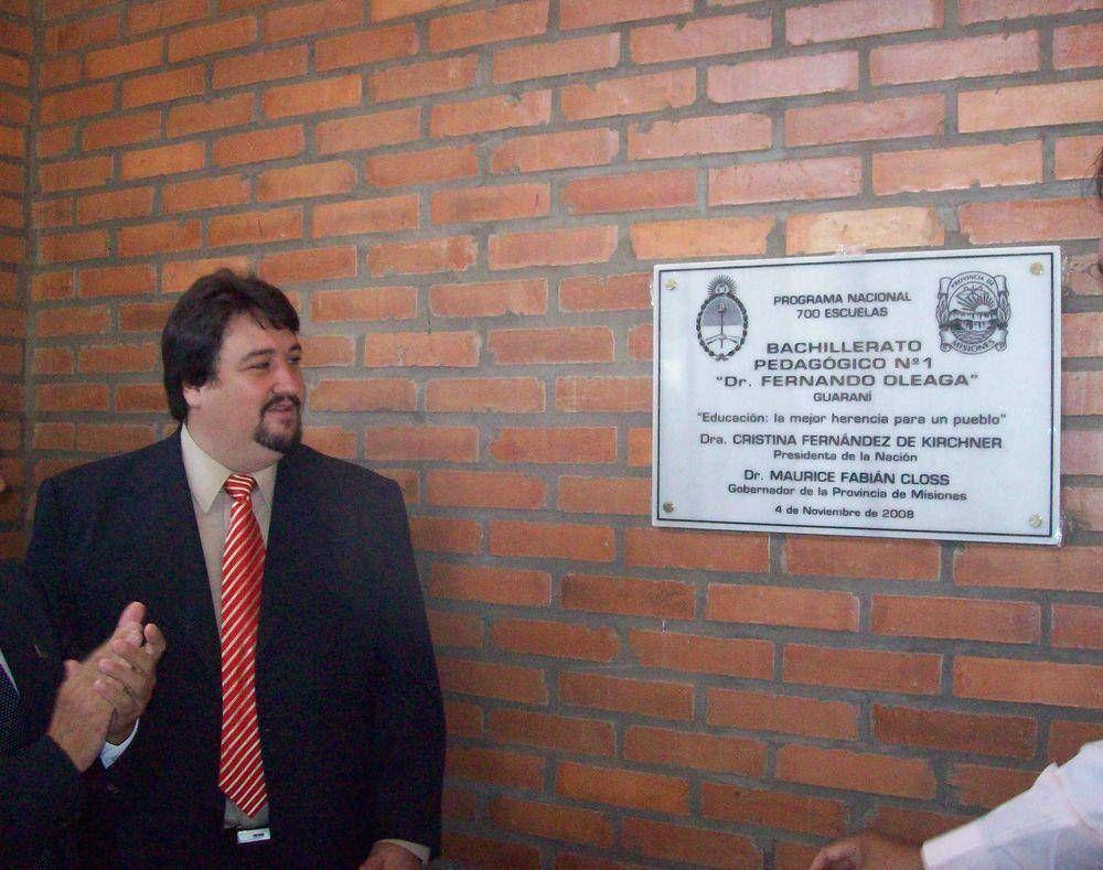 Raid de inauguraciones: hoy en Andresito y Puerto Esperanza.