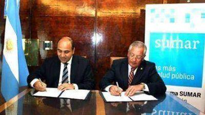 Se formalizó adhesión de Jujuy  Al programa Sumar
