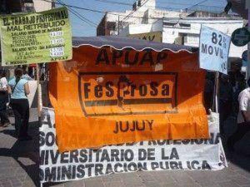 Alto acatamiento al paro de los Profesionales de Jujuy