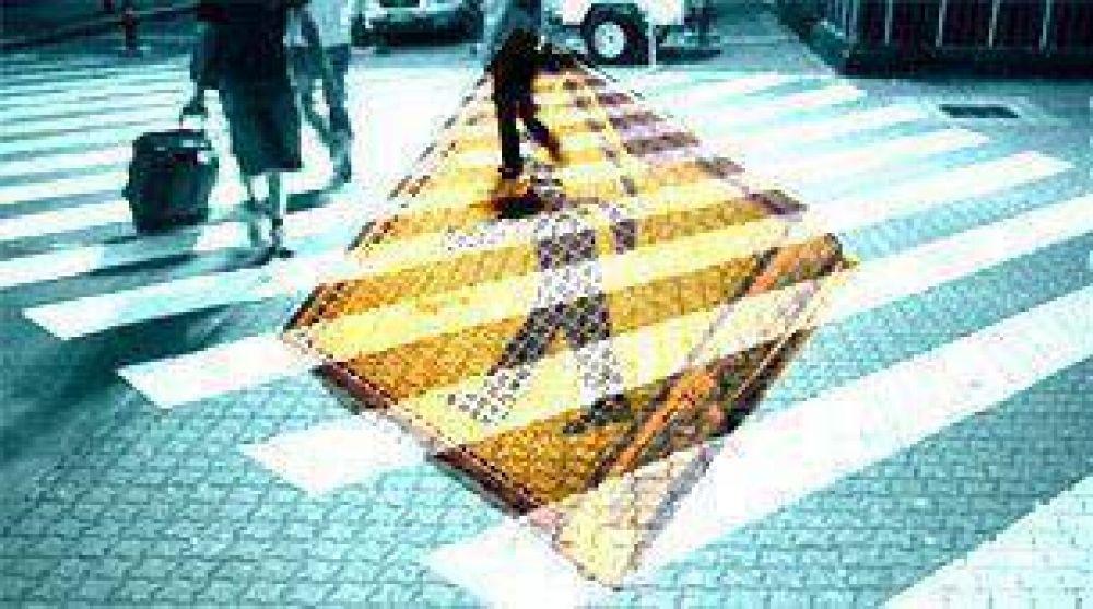Casi el 45% de los fallecidos en accidentes de tránsito son peatones