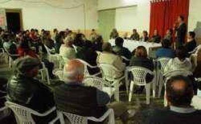 La dirigencia de Convergencia se reunió en Margarita Belén