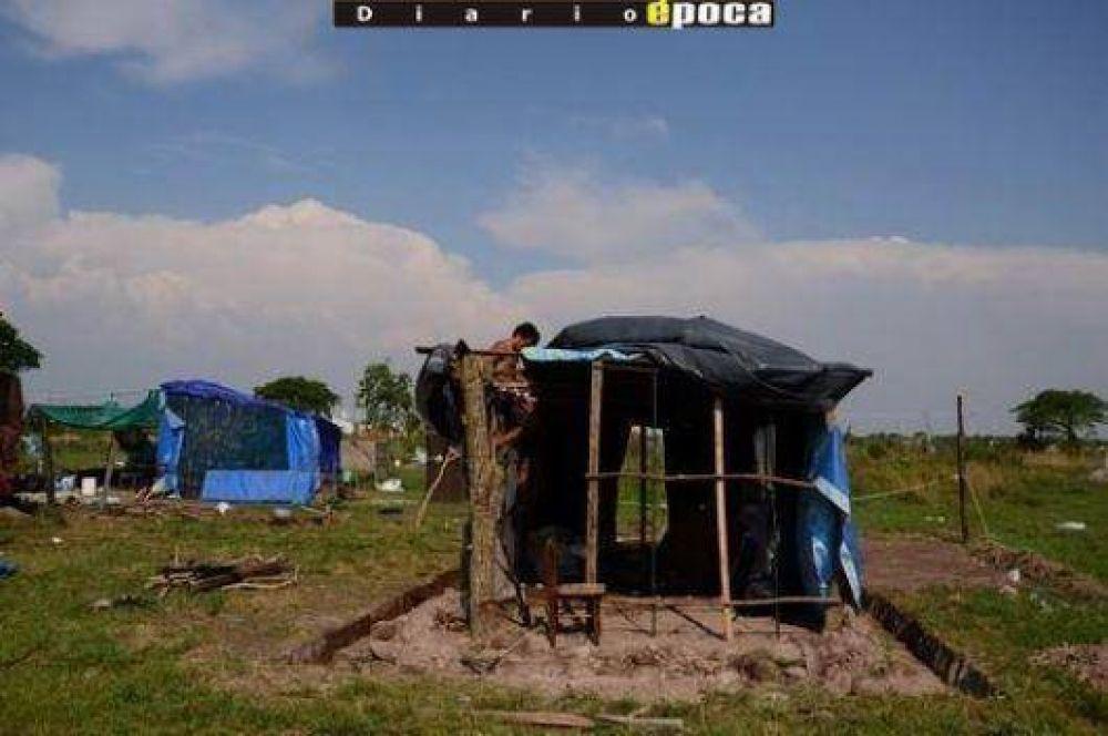 El temporal causó daños y heridos en el asentamiento de Pirayuí